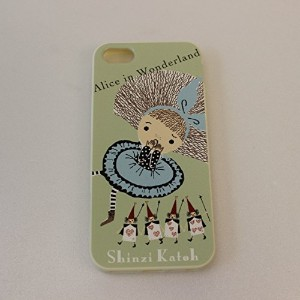 Shinzi Katoh Design/シンジカトウ iPhone5/5S/SE カバー ≪TPUタイプ:白≫ (【TPU7091】 New Alice)
