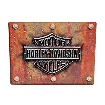 # 2010831Ande Rooney Harley Davidson Made Plateメタル/ Tin Sign by Ande Rooney Signs