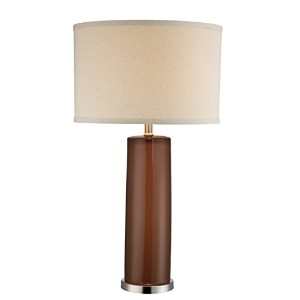 Lite Source LSF-22234COFFEE Cigar Table Lamp [並行輸入品]
