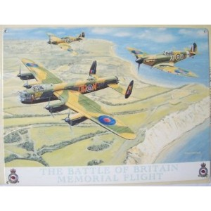 Battle Of Britain Memorial Flight メタルサインプレート   (og 4030)