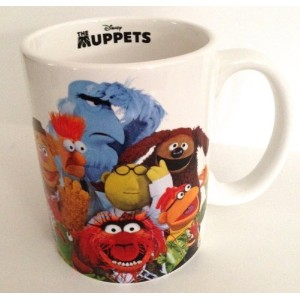 Disney Parks The Muppets Multi Character Ceramic Mug Cup NEW Beaker Miss Piggy by Disney [並行輸入品]