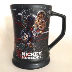 Disney Park Mickey Mouse Robot Model Large Ceramic Mug NEW by Disney [並行輸入品]