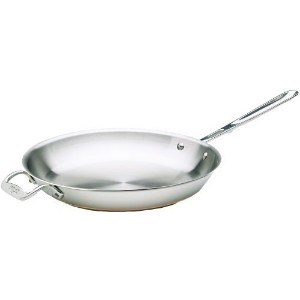 All-Clad 6112 SS Copper Core 5-Ply Bonded Dishwasher Safe Fry Pan Cookware, 12-Inch, Silver by All...