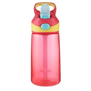 Contigo Striker Kids Water Bottle, 14-Ounce 水筒 400ml ブロッサム