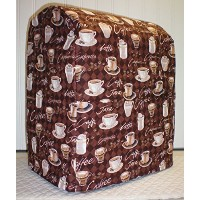 Quilted Coffee Kitchenaid Lift Bowl Stand Mixer Cover (All Brown Coffee) by Penny's Needful Things