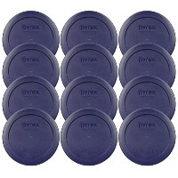 Pyrex 2 Cup Blue Round Storage Lid/Cover #7200-PC for Glass Mixing Bowls - by Pyrex