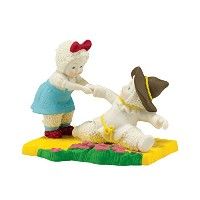 Snowbabies Department 56 Snowbabies Guest Collection Give Me Your Hand Figurine, 2.95-Inch by...