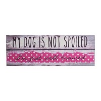 TranspacレトロドットMy Dog Is Not Spoiled Plaque