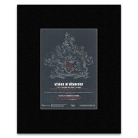 VISION OF DISORDER - September 17th 2012 Matted Mini Poster - 28.5x21cm
