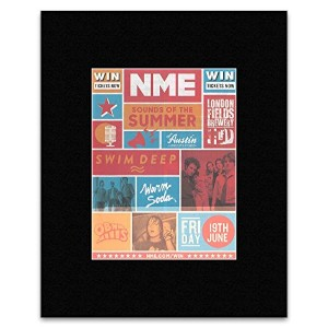 SOUNDS OF THE SUMMER - Friday 19th June 2015 Mini Poster - 28x21cm