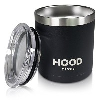 Hood River Stainless Steel Insulated Beer Cup Cocktail Tumbler Low Ball With Lid 13.5 oz. (1) by...