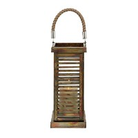 Deco 79 Metal Lantern, 7 by 25-Inch [並行輸入品]