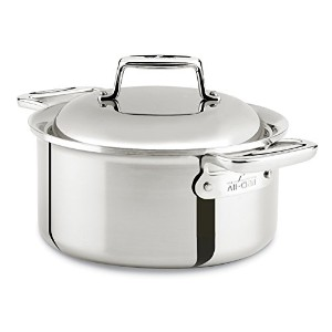 All-Clad SD7530356 D7 18/10 Stainless Steel 7-Ply Bonded Construction Dishwasher Safe Oven Safe...