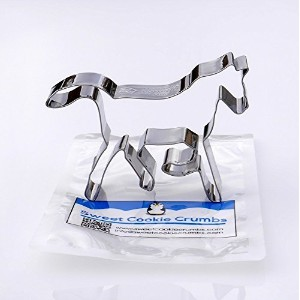 Trotting Horse Cookie Cutter - Stainless Steel by Sweet Cookie Crumbs