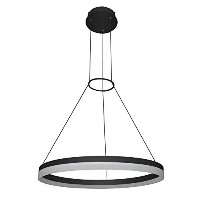 VONN VMC31650BL Modern/Contemporary 24 inch Led Chandelier, Adjustable Suspension Fixture, Modern...