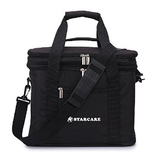 STARCARE Insulated Lunch Box for Adults with Adjustable Shoulder Strap, Big Size Cooler Lunch Bag,...