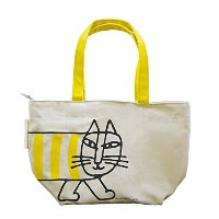トートバッグ S マイキー イエロー TOTE BAG S MIKEY yellow LISA LARSON