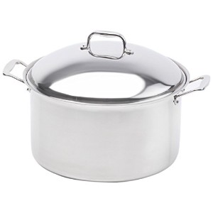 360 Cookware Stainless Steel Stockpot with Cover, 16-Quart by 360 Cookware [並行輸入品]