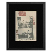 The Clash - 1977 NME Cover Framed Mini Poster - 53x43cm