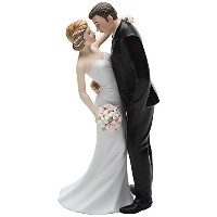 Cosmos Gifts 33266 Ceramic Wedding Couple Figurine, 7-Inch [並行輸入品]