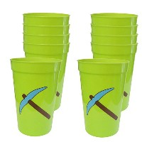 Mining Fun Pickaxe 12-Ounce Cups (10) by Blue Orchards, LLC