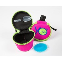 YoToGo Yogurt Container, To Go, Travel, Cooler (Pink) - Perfect Stocking Stuffers for the whole...