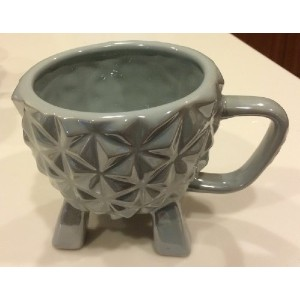 Walt Disney World Park Epcot Spaceship Earth Ceramic Mug NEW [並行輸入品]