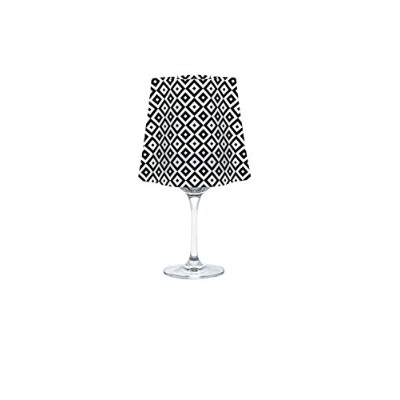 Modgy SH5000 Lucy Frosted Lumizu Wine Glass Shades Floating LED Candles with Batteries (Four Pack) ...