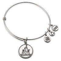 Disney Parks Alex and Ani Magic Kingdom Cinderella Castle Silver Bracelet by Alex and Ani [並行輸入品]