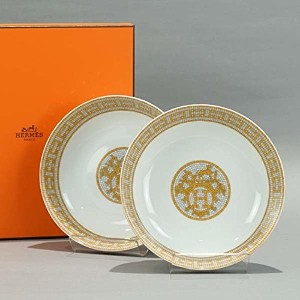 HERMES(エルメス) プレート MOSAIQUE MULTI 026014P CEREAL PLATE [並行輸入品]