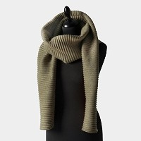 プリース ロングスカーフ グリーン Pleece LONG SCARF green Marianne Abelsson