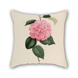 Bestdecorhouse The Flower Throw Pillow Case Of ,16 X 16 Inches / 40 By 40 Cm Decoration,gift For...