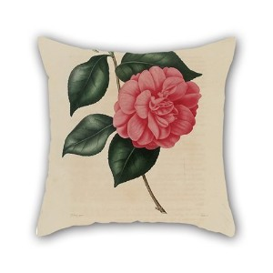Bestdecorhouse Flower Pillow Cases 16 X 16 Inches / 40 By 40 Cm For Wife,bench,dining Room,deck...