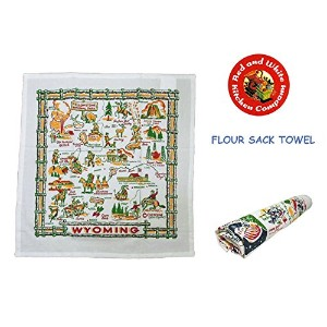 【Red and White Kitchen Company】FLOUR SACK TOWEL レッドアンドホワイト キッチンタオル (4.TEXAS(テキサス))