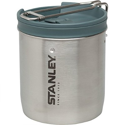 Stanley Mountain Compact Cook Set, Stainless Steel, 24-Ounce 保温炊飯器 [並行輸入品]AURAKEE