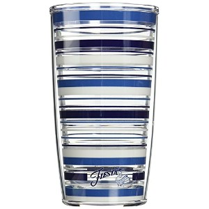 High Quality Tumbler with Wrap, 16-Ounce, Fiesta Lapis Stripes