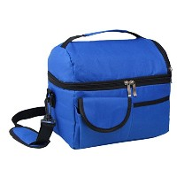 Zhhlinyuan 良質 Outdoor Picnic Tote Bag Classic Handheld Lunch Bag Insulated Bag VWB022
