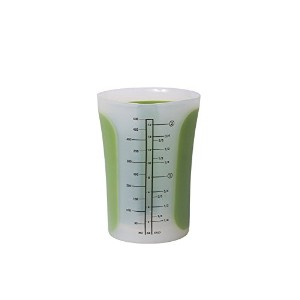 High Quality SleekStor Pinch+Pour 2-Cup Measuring Beaker with Lid (Arugula)