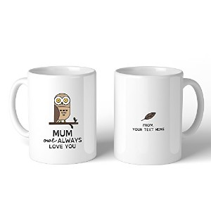365 Printing Mum Owl Always Mothers Day Gifts Ceramic Coffee Mus Gifts For Mom