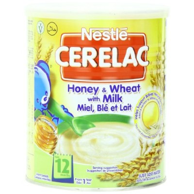 Nestl? Cerelac Infant Cereals Honey And Wheat 400 g (Pack of 4)
