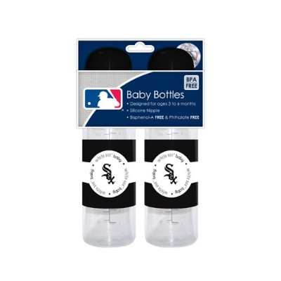 MLB Chicago White Sox Baby Bottles, by Baby Fanatic