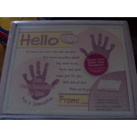 Child Handprint Memories Kit and Frame by Memories