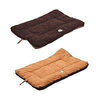 Pet Life Eco-Paw Reversible Pet Bed, Brown/Cocao, Large by Pet Life