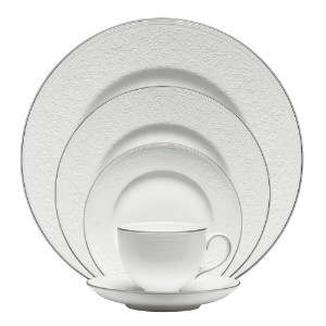 Wedgwood English Lace 5-Piece Place Setting by Wedgwood