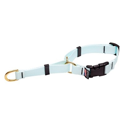 Cetacea Soft Martingale Collar with Quick Release, X-Small, Baby Blue by Cetacea