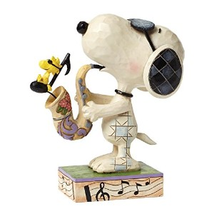 enesco PEANUTS DESIGNS BY JIM SHORE フィギュア スヌーピー The Blues Beagle  #4049418 4049418