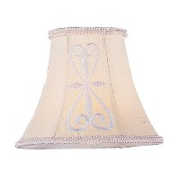 Livex Lighting S318 Hand Embroidered Silk Chandelier Shade by Livex Lighting