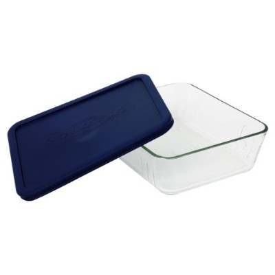 Pyrex 11 Cup Storage Plus Rectangular Dish With Plastic Cover Sold in packs of 2 by Pyrex