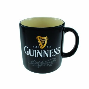 Guinness Black Signature Mug by Guinness Official Merchandise