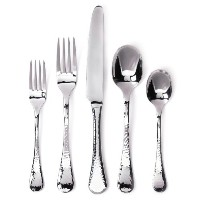 Ginkgo International Lafayette 42-Piece Stainless Steel Flatware Set, Service for 8 Plus 2-Piece...
